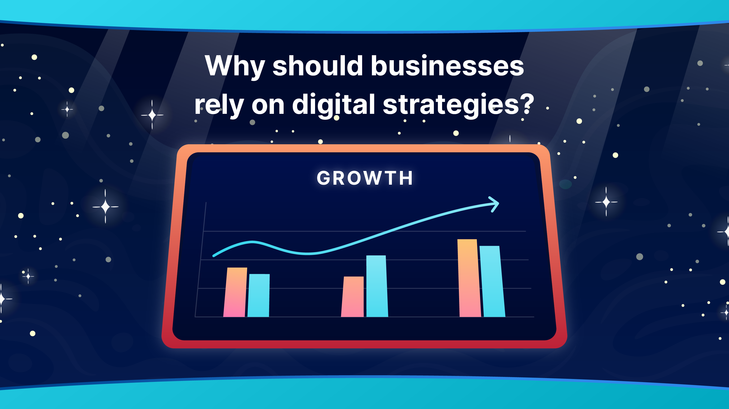 Why should businesses consider implementing digital solutions and strategies. And what digital approach should they adopt to boost revenue. (Illustration: Kata.ai)