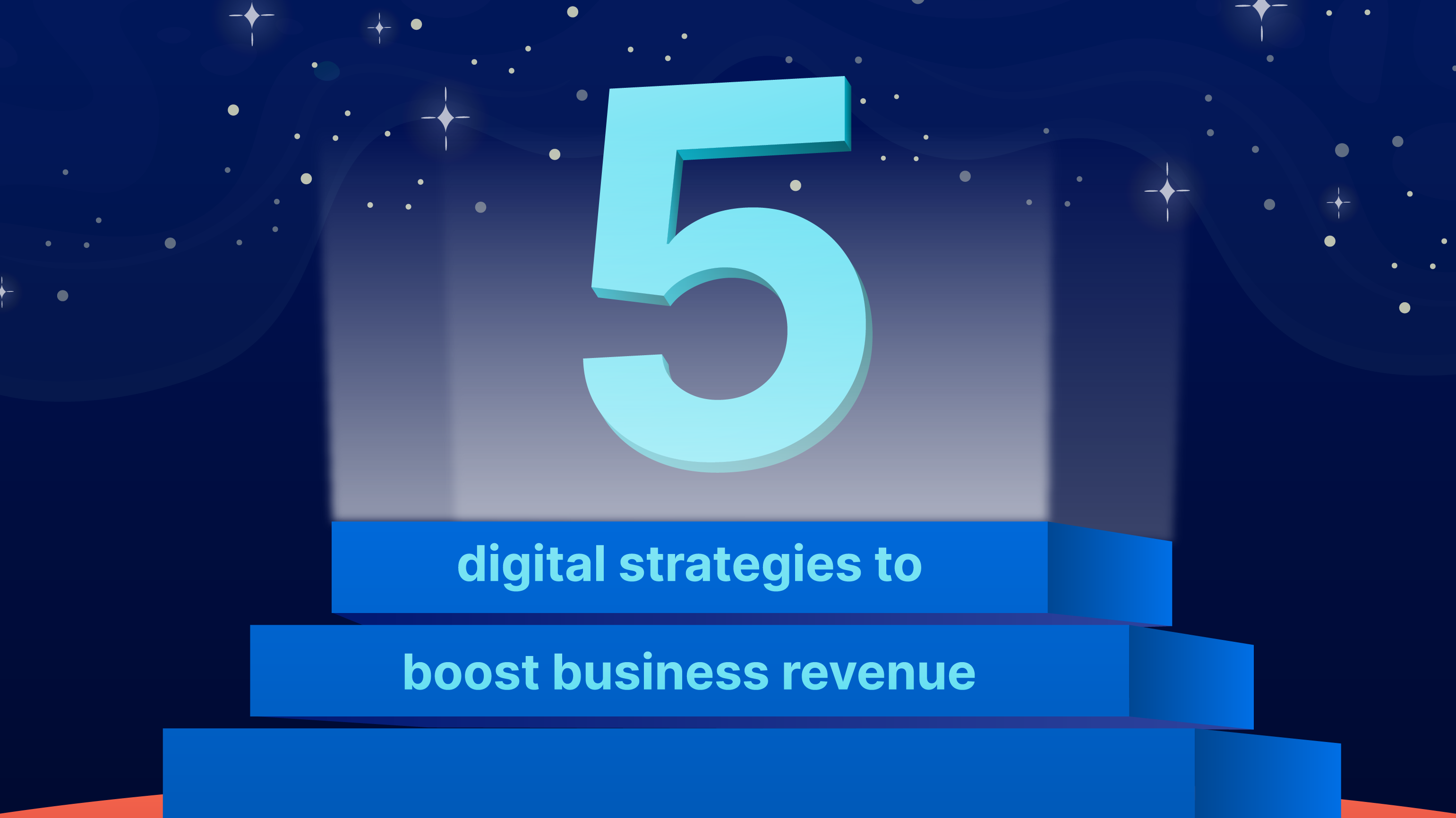 While there is more to explore in terms of digital strategies, these are the five most important ones to implement in order to maximize your revenue. (Illustration: Kata.ai)