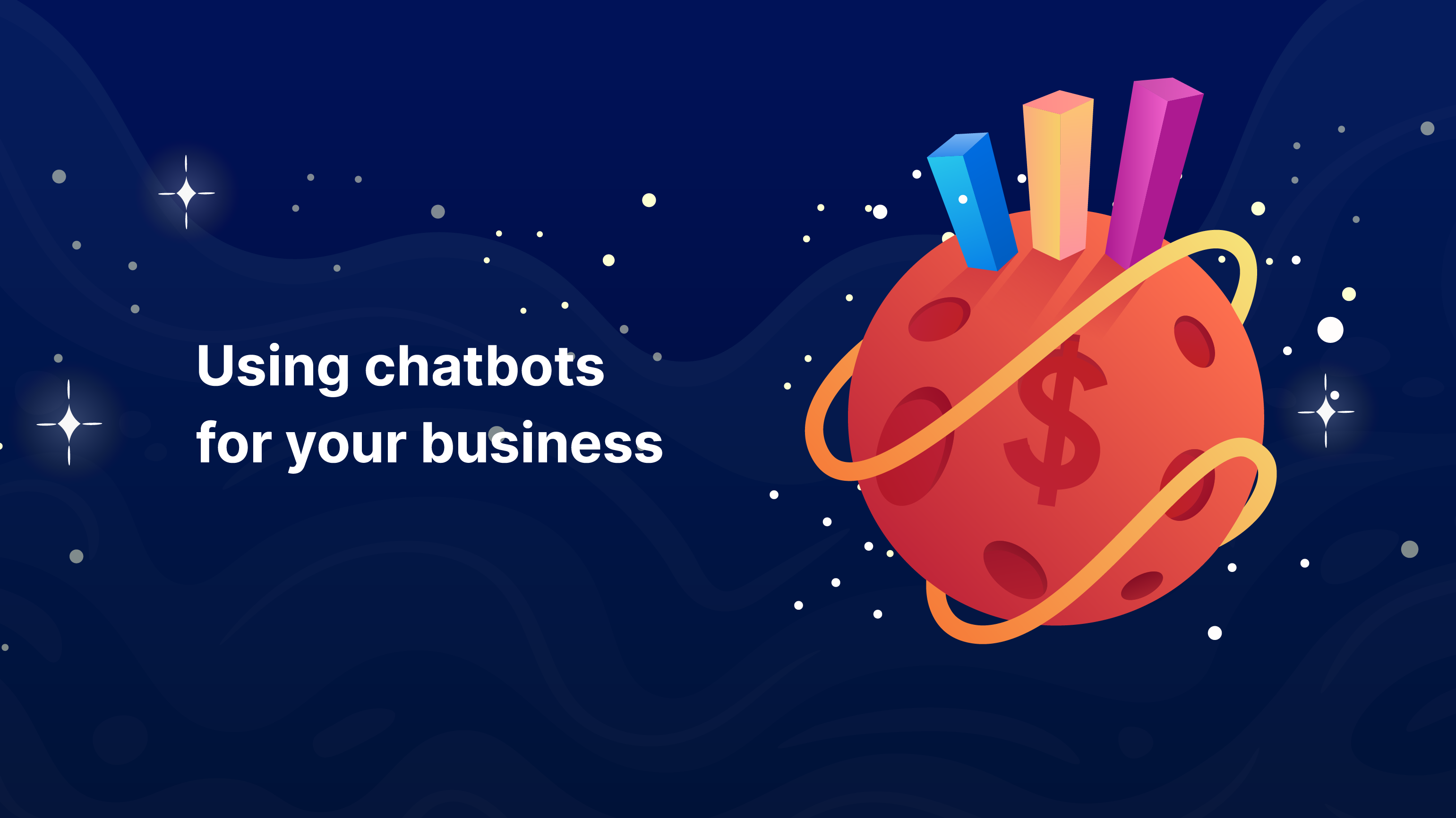 Adopting conversational AI or chatbots solutions as a part of customer support and productivity boost is probably the most interesting way businesses can give a better experience while boosting their revenue. (Illustration: Kata.ai)