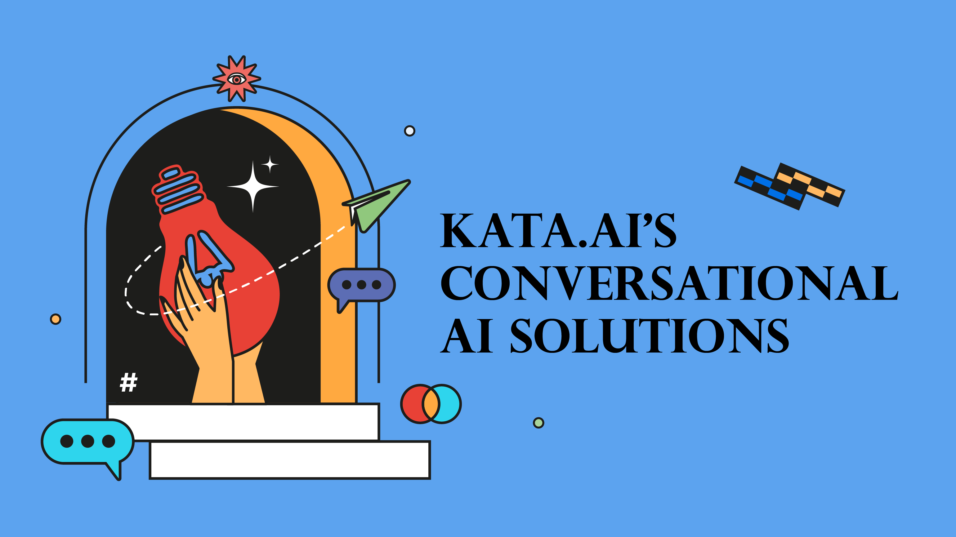 Get to know Kata.ai's conversational AI and chatbot solutions that took advantage of state-of-the-art natural language processing (NLP) technology in Bahasa Indonesia.