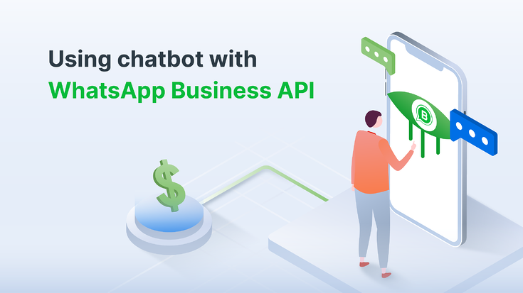 See how you can integrate your intelligent chatbot with WhatsApp Business API (Illustration: Kata.ai)