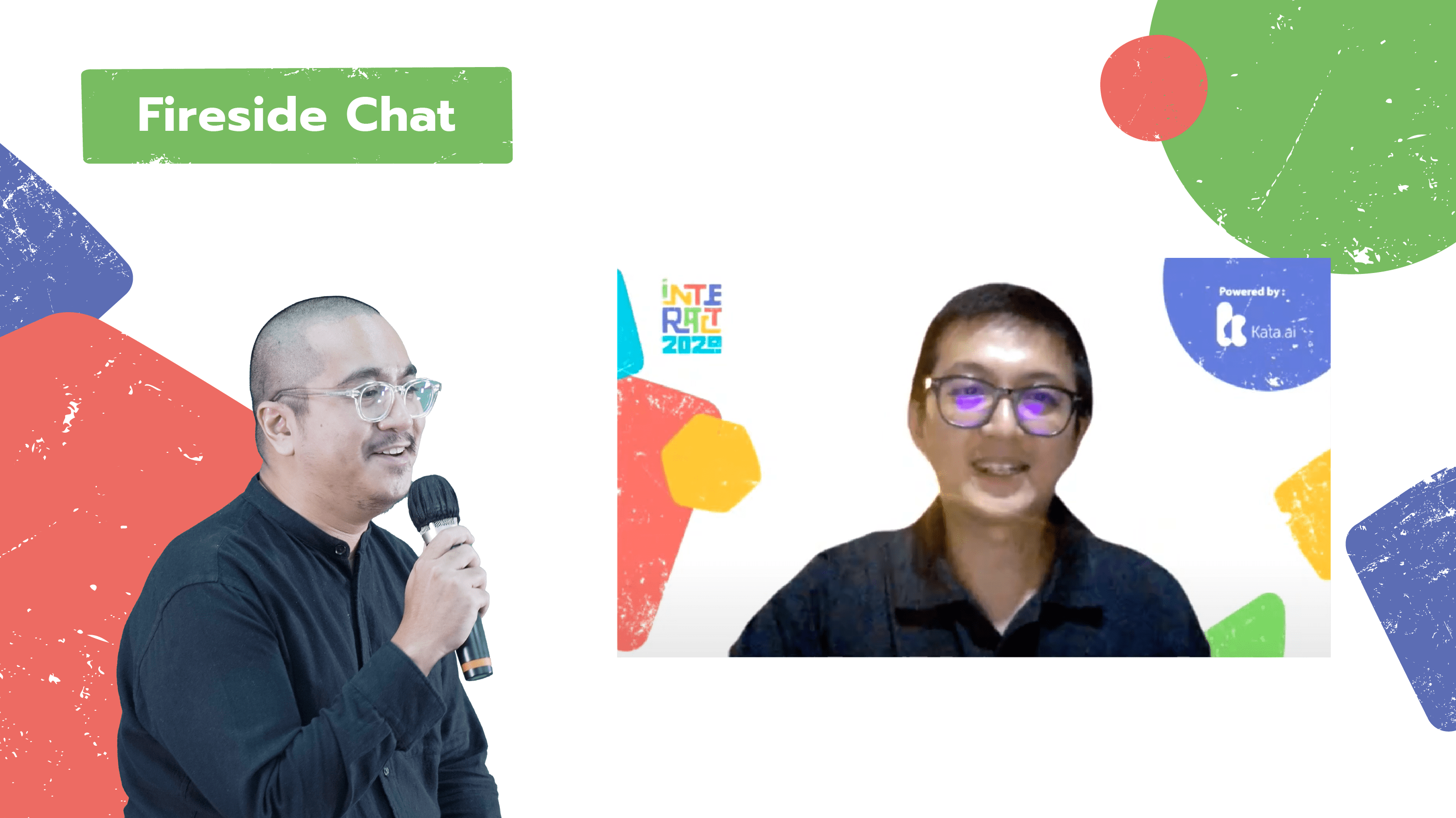 In INTERACT 2020's fireside chat session, Kata.ai CMO Reynir Fauzan discussed about startup innovators in Indonesia paving the way for many breakthroughs and digital initiatives with Amazon Web Service (AWS) Indonesia Country General Manager Gunawan Susanto.