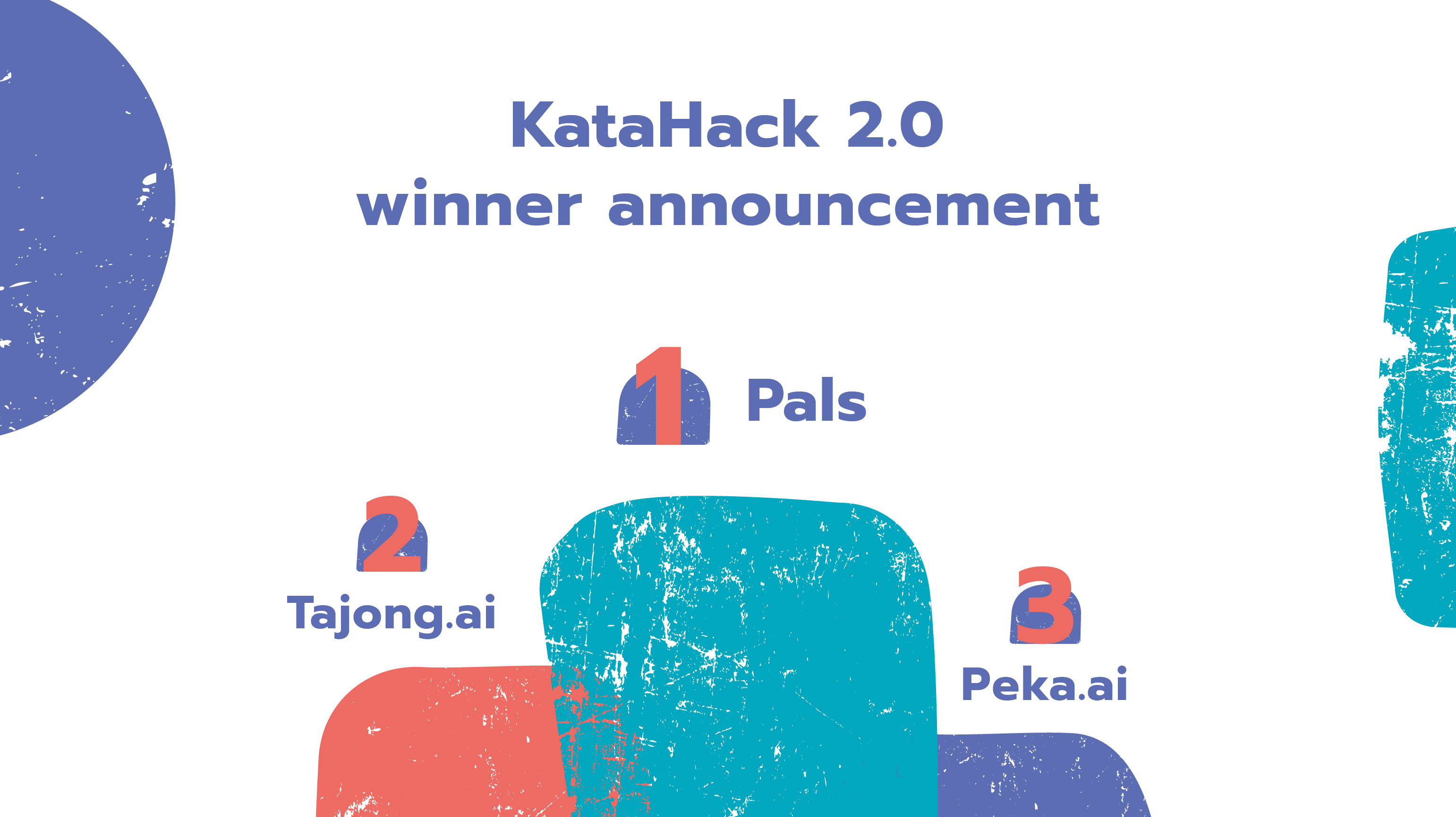 The winners of Kata.ai's KataHack 2.0 competition was also announced at INTERACT 2020.