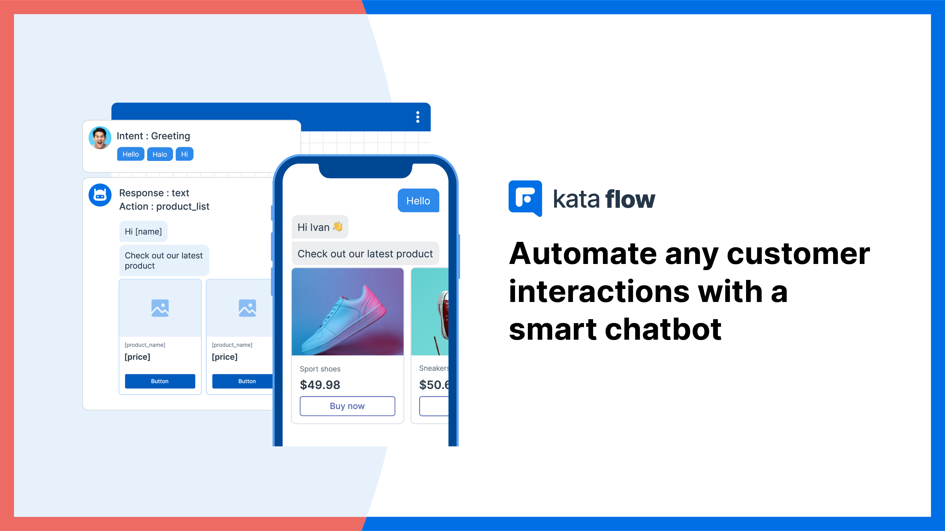 Create a natural interaction flow for your smart chatbot with Kata Flow