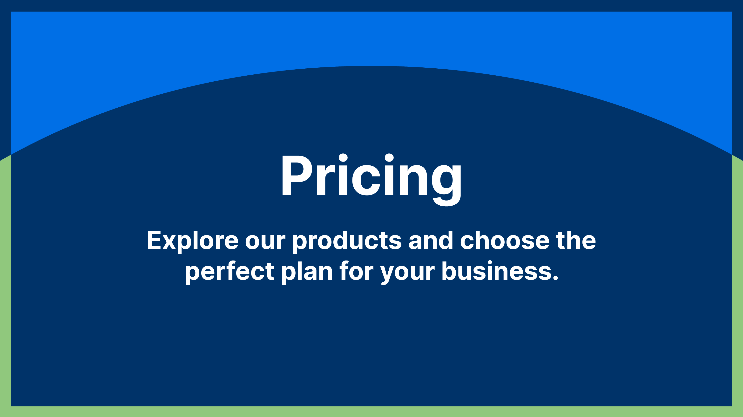 With our flexible pricing plan, you can explore the chatbot products and solution that suit your business best.