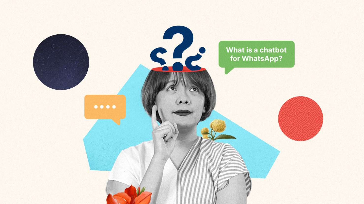 With a lot of businesses utilizing chatbot for their WhatsApp accounts, we will discuss about what exactly is chatbot for WhatsApp (Photo and Illustration by Kata.ai)