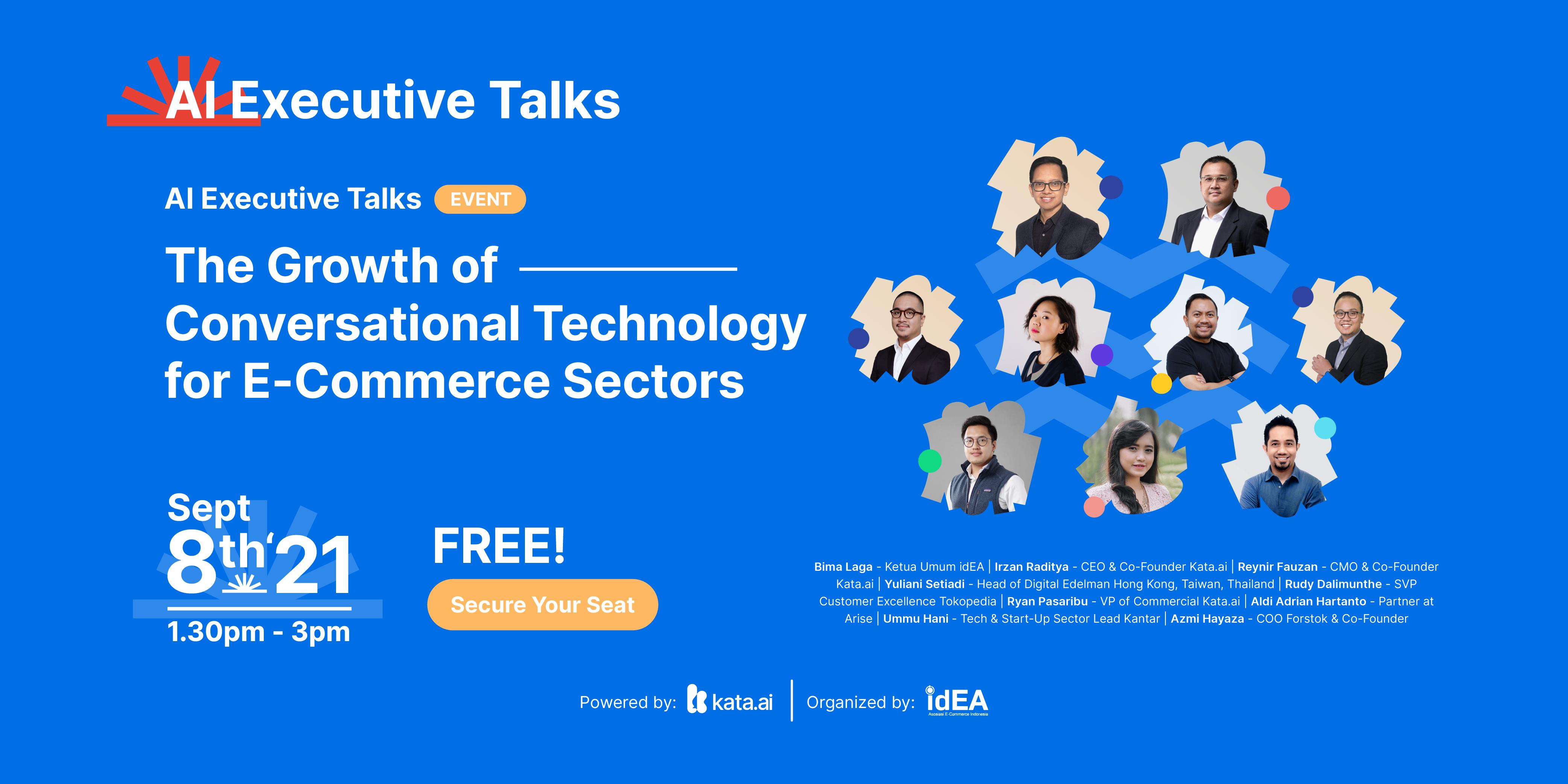 AI Executive talks event powered by kata.ai